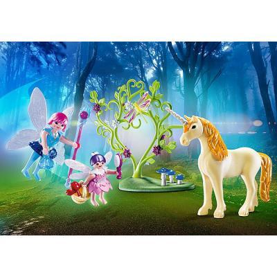 Playmobil 70529 - Fairy with Unicorn Carry Case - Fairies
