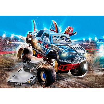 Playmobil 70550 - Stunt Show Shark Monster Truck - City Action