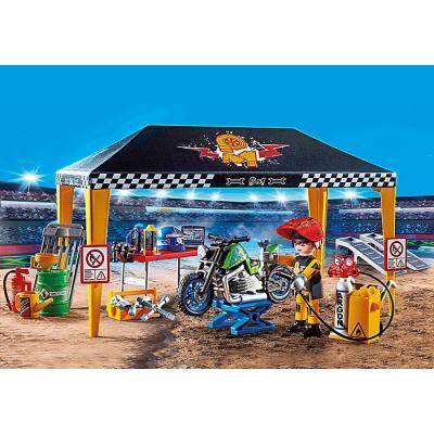 Playmobil 70552 - Stunt Show Service Tent - Stunt Show