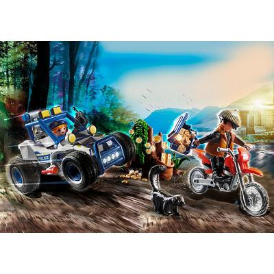 Playmobil 70570 - Police Off-Road Car with Jewel Thief - City Action