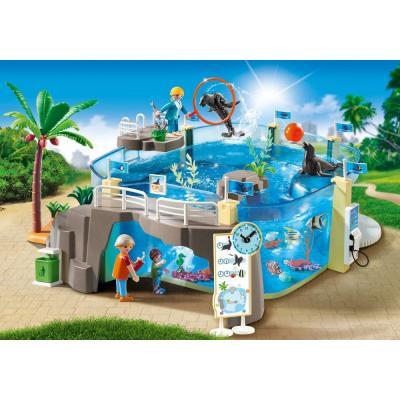 Playmobil 9060 - Sea Aquarium Zoo Play Set - Family Fun