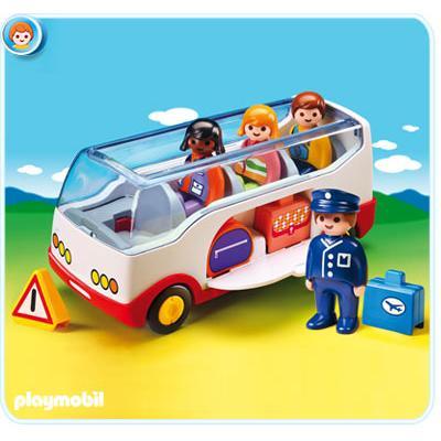Playmobil 6773 - Airport Shuttle Bus