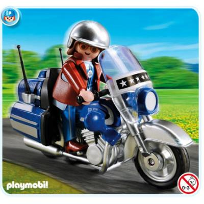Playmobil 5114 - Touring Motorcyle and Rider
