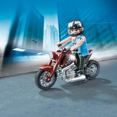 Playmobil 5527 Muscle Motorbike Set Sports & Action