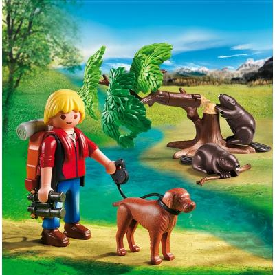 Playmobil 5562 – Beavers With Backpacker Wild Life