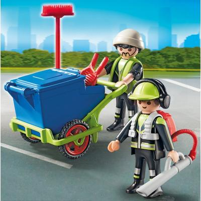 Playmobil 6113 – Sanitation Team City Action City Cleaning