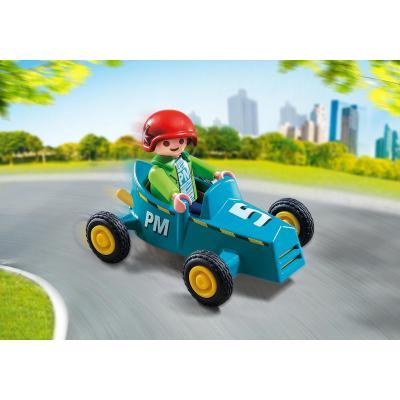 Playmobil 5382 - Boy with Go-Kart