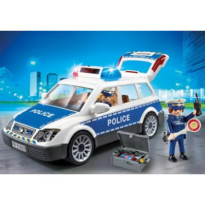 Playmobil 6920 – Police Car with Lights and Sound - City Action