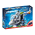 Playmobil 6921 – Police Helicopter with LED Torch Searchlight - City Action