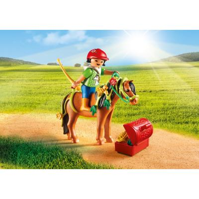 Playmobil 6968 - Groomer with Bloom Pony - Country