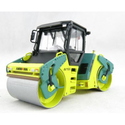 ROS 00193 - Ammann AV 110 X Tandem Dual Compactor Roller - Scale 1:50