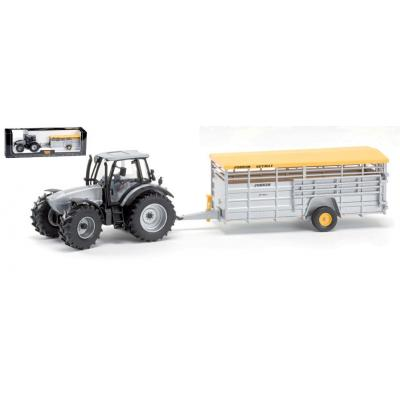 ROS 70522 - Lamborghini R6.165 Tractor with Joskin Betimax Trailer Scale 1:32
