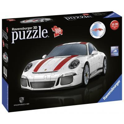 Ravensburger - Porsche 911 R 3D Puzzle 108 pieces