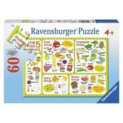 Ravensburger - A Healthy Diet Puzzle - 60 pieces