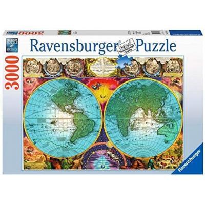 Ravensburger - Antique Map Puzzle - 3000 pieces
