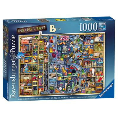 Ravensburger - Awesome Alphabet - B is for... - Jigsaw Puzzle - 1000 Pieces