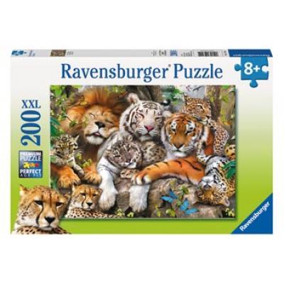 Ravensburger - Big Cat Nap Puzzle - 200 pieces