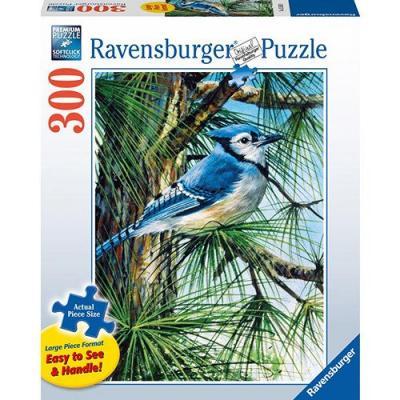 Ravensburger - Blue Jay Large Format Puzzle - 300 pieces