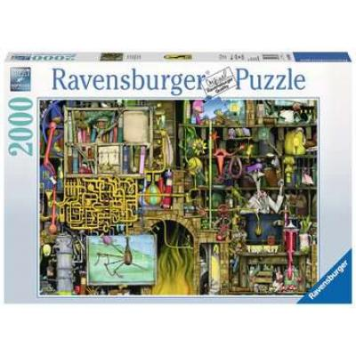 Ravensburger - Colin Thompson - The Loopy Laboratory - 2000 pieces
