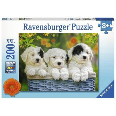 Ravensburger - Cuddly Puppies 200 pieces