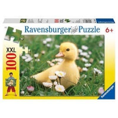 Ravensburger - Cute Duckling Puzzle XXL - 100 pieces