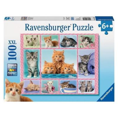 Ravensburger - Cute Kittens Puzzle XXL - 100 pieces