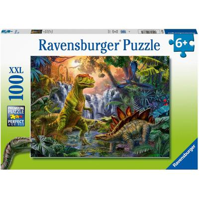 Ravensburger  - Dinosaur Oasis XXL Puzzle - 100 pieces