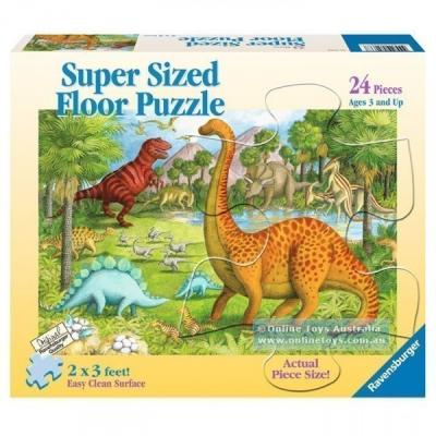 Ravensburger - Dinosaur Pals Super Size Floor Puzzle - 24 pieces