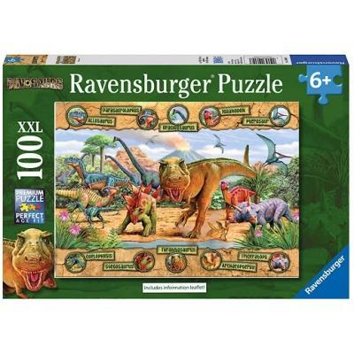 Ravensburger - Dinosaurs Puzzle - 100 pieces