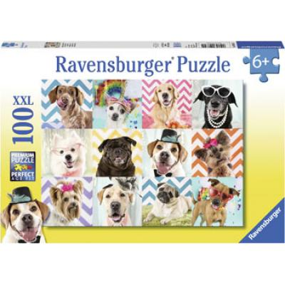 Ravensburger - Doggy Disguise Puzzle - 100 pieces