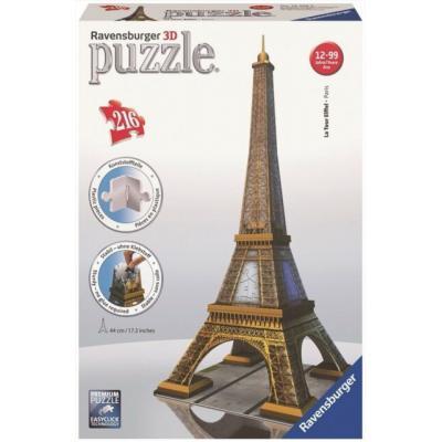 Ravensburger - Eiffel Tower - 3D Puzzle - 216 pieces