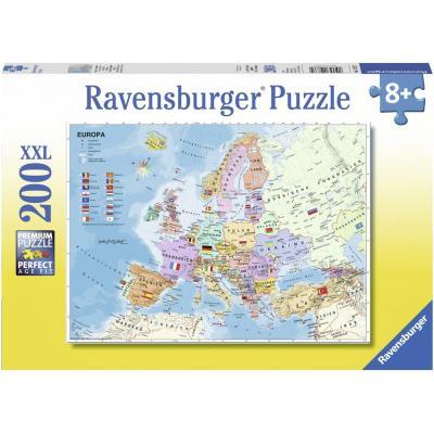 Ravensburger  - Europe Map XXL Puzzle - 200 pieces