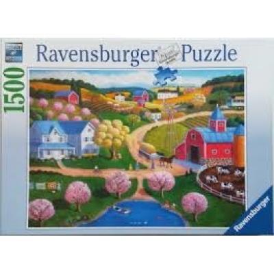 Ravensburger - Farm Country Puzzle - 1500 pieces