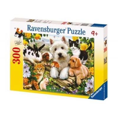 Ravensburger - Happy Animal Babies Puzzle - 300 pieces