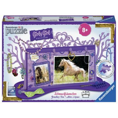 Ravensburger - Horse Jewellery Tree Girly Girl - 108 pieces