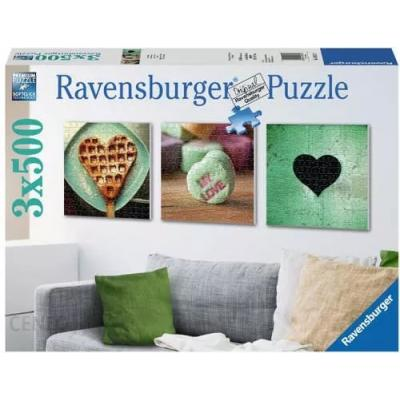 Ravensburger - Impressions of Love Puzzle - 3x500 pieces