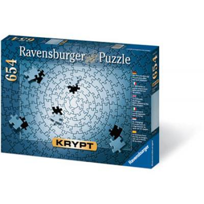 Ravensburger - KRYPT Silver Spiral Puzzle - 654 Pieces