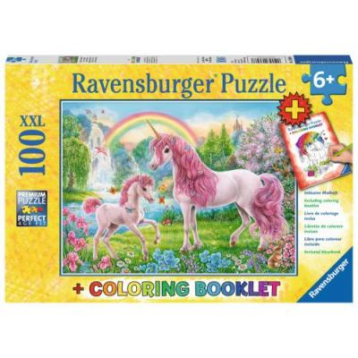Ravensburger  - Magical Unicorn XXL Puzzle - 100 pieces