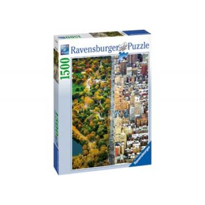 Ravensburger - New York Divided Town Puzzle - 1500 pieces