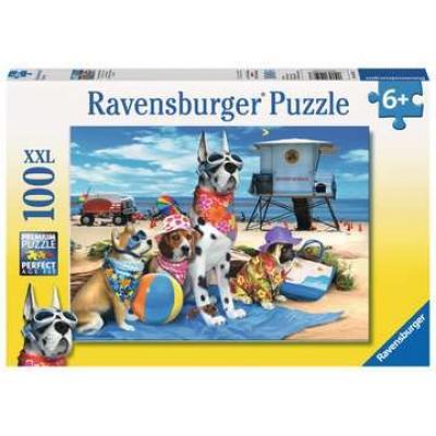 Ravensburger - No Dogs on the Beach Puzzle - 100 Pieces