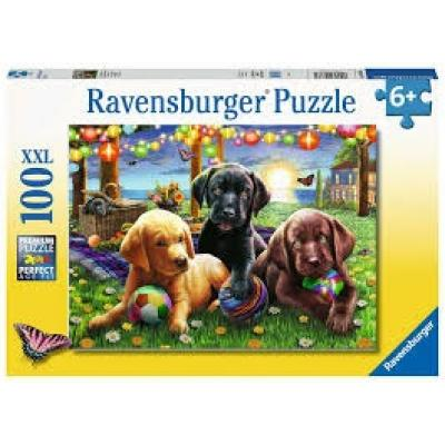 Ravensburger  - Puppy Picnic XXL Puzzle - 100 pieces