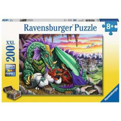 Ravensburger  - Queen of Dragons XXL Puzzle - 200 pieces