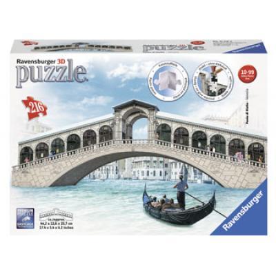 Ravensburger - Rialto Bridge - 3D Puzzle - 216 pieces