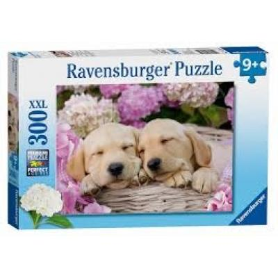 Ravensburger  - Sweet Dogs in a Basket - 300 Pieces