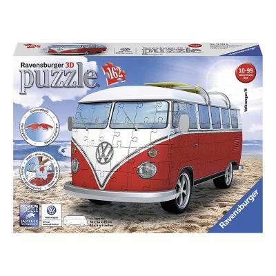 Ravensburger -  Volkswagen VW Kombi Bus 3D Puzzle 162 pieces