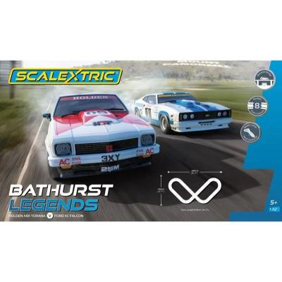 Scalextric C1418 - Bathurst Legends Slot Car Set Holden A9X Torana Moffat vs Ford XC Falcon 1:32