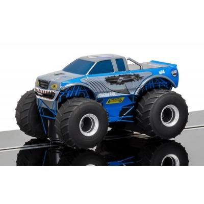 Scalextric C3835 Team Monster Truck - Predator Blue Slot Car Super Resistant