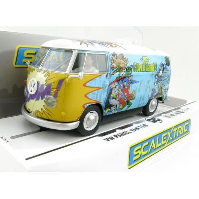Scalextric C3933 VW Volkswagen Panel Van T1B - DC Comics Heros 1:32 Scale