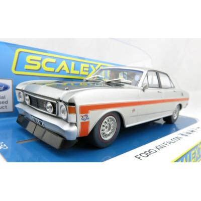 Scalextric C4037 Ford XW GT-HO Falcon - Silver Fox - 1:32 Scale