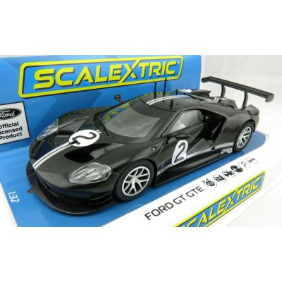Scalextric C4063 Ford GT GTE Black No2 Heritage Edition 1:32 Scale